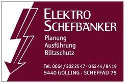 Elektro Schefbänker